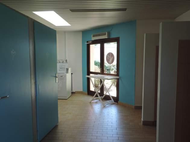 Sanitaires- espace laverie